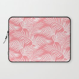 Palm Leaves_Pink Laptop Sleeve