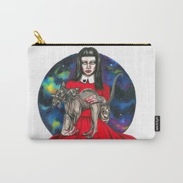 Te sphynx galaxy Queen Carry-All Pouch