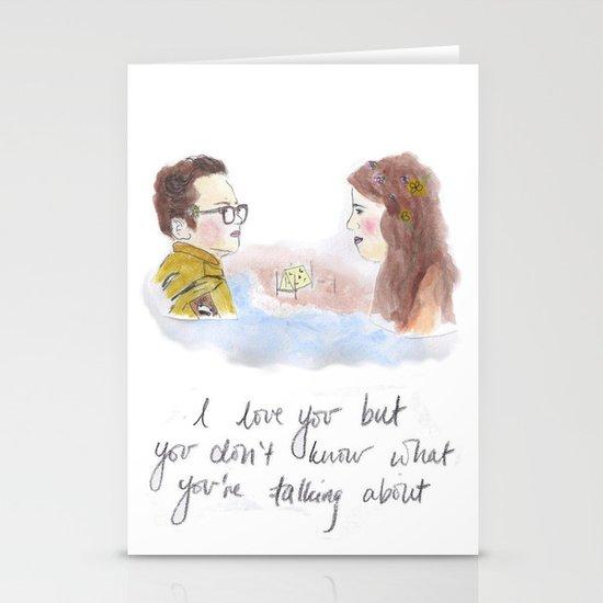 Sam and Suzy, Moonrise Kingdom Stationery Cards