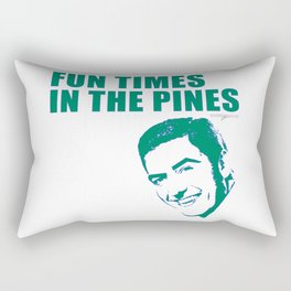 FUN TIMES IN THE PINES BY ROBERT DALLAS Rectangular Pillow