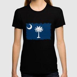 Flag of South Carolina - High Quality image T-shirt