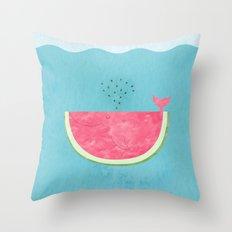 Sea Melon Throw Pillow