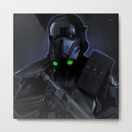 Deathtrooper Metal Print