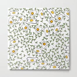 Egg cress Metal Print