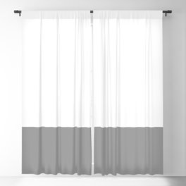 Dipped in Grey Blackout Curtain
