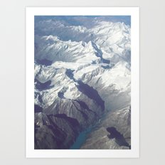 Mountains n.2 Art Print