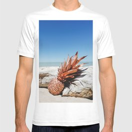Rose Gold Pineapple Awesome T-shirt