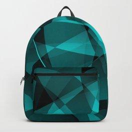 Minimal geometric background Backpack