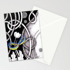 Tangled Times Stationery Cards