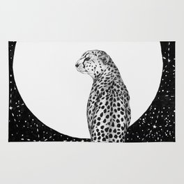 Cheetah Moon Rug
