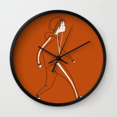 Take a Walk Wall Clock