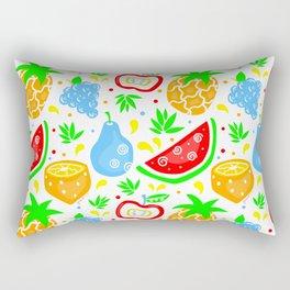 Fiesta de las Frutas Rectangular Pillow