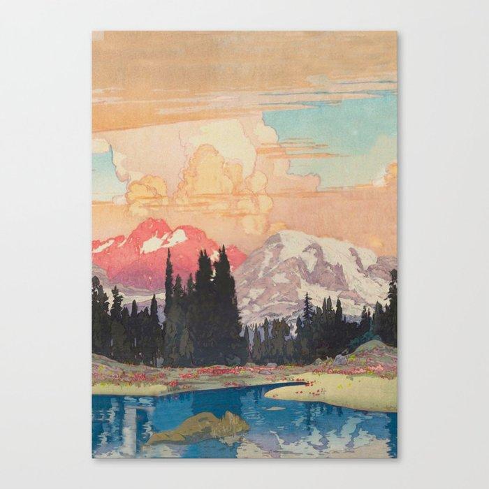 Storms over Keiisino Canvas Print