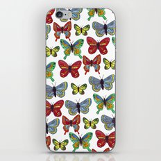 Flutterby Butterfly iPhone & iPod Skin