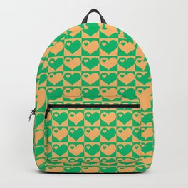 Herzen Liebes Collage Backpack