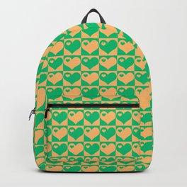 Herzen Liebes Collage Backpack