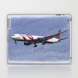 Delta Airlines Boeing 767 Art Laptop & iPad Skin