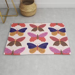 Tattooed Butterflies – Primary Palette Rug
