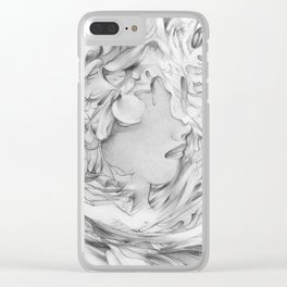 Spring_angle Clear iPhone Case