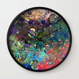 Satellite Souls Wall Clock