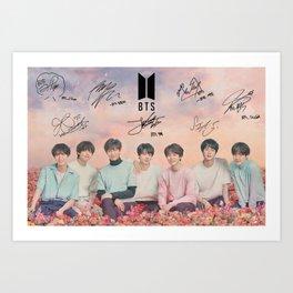 BTS Seoul Art Print