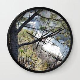 Post Falls, Waterfalls, Pretty Landscape, Beautiful Scenery Wall Clock