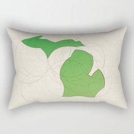 Michigan 26 Rectangular Pillow