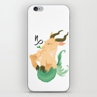 capricorn iPhone & iPod Skins featuring Capricorn by Rejdzy
