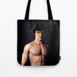 Shirtless Sherlock Tote Bag