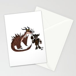 Hungry Hookfang Stationery Cards