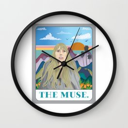 The Muse Wall Clock