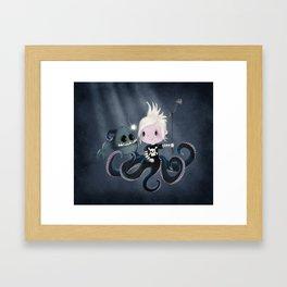Monsters Love Framed Art Print