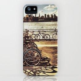 NYC Bikes iPhone Case