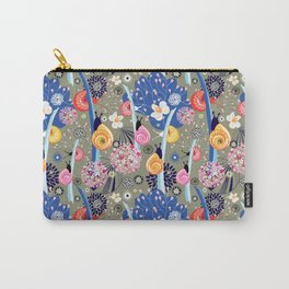 Pattern snail in the garden Carry-All Pouch