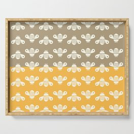 Busy Bees Serving Tray
