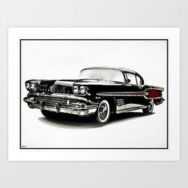 Custom Pontiac Bonneville Art Print