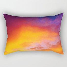 Sky Ablaze Rectangular Pillow