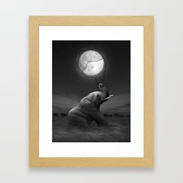 Bringing Light to the Darkness Framed Art Print