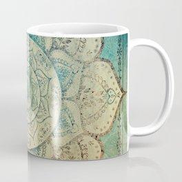 Faded Bohemian Mandala Coffee Mug