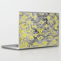 lv Laptop & iPad Skins featuring LV NEONIZED by JANUARY FROST