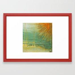 Fill the Air Framed Art Print