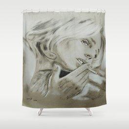 Diane Kruger Shower Curtain