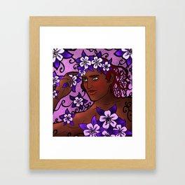 Flower Prince Framed Art Print