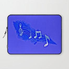 Blue Notes Laptop Sleeve