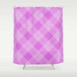 Purple Pattern Design Shower Curtain