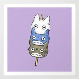 Totomochi Art Print