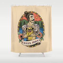 Daddy Issues Shower Curtain