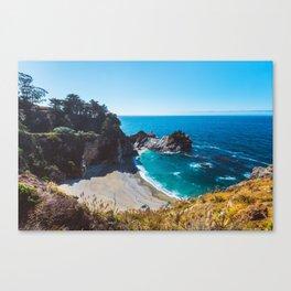 McWay Falls, Big Sur, California Canvas Print