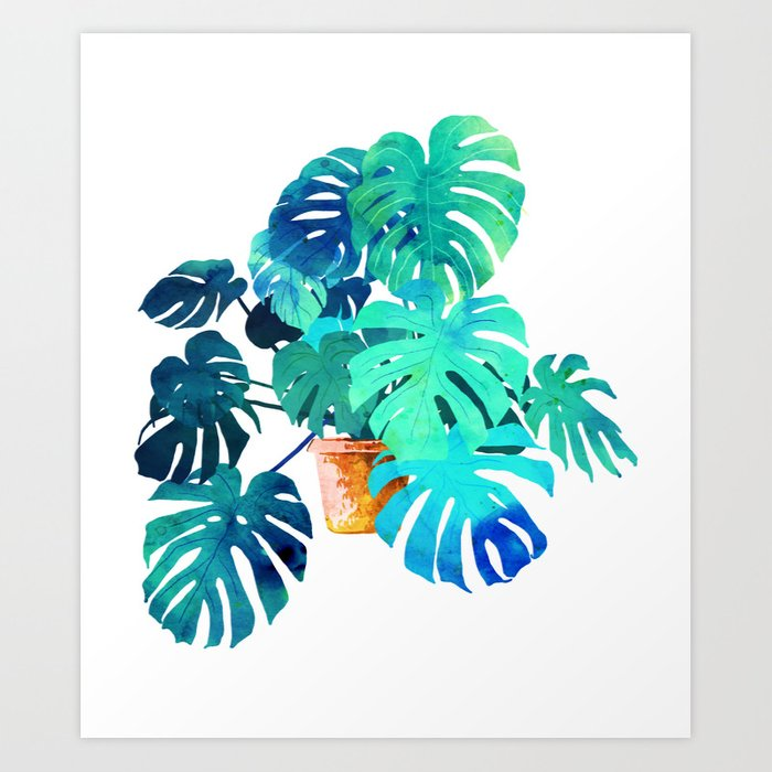 Monstera || Art Print