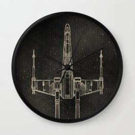 X-Wing Fighter Wall Clock